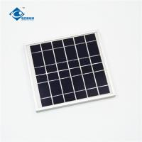 Buy cheap 6V 4W transparent mini solar panels for mobile solar charger ZW-4W-6V-1 solar panel photovoltaic from wholesalers