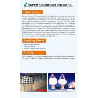 Buy cheap Super Absorbent Resin Super Absorbent Polymer from wholesalers