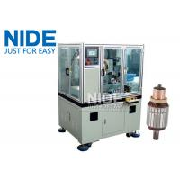 Buy cheap Servo double cutter cnc armature Commutator Turning Machine lathe from wholesalers