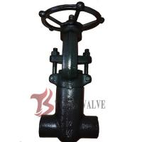 Buy cheap 900LB Forged Steel Valves Pressure Seal Bonnet PSB Solid Wedge Full Bore from wholesalers