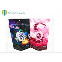 Buy cheap Custom Logo Aluminum Foil Herbal Incense Bags Zip Lock Resealable Standing from wholesalers