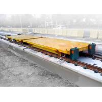 Buy cheap Production line apply battery powered delivery electric flat car on rail from wholesalers