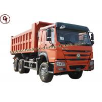 Buy cheap 6*4 20m3 Sinotruk Howo Dump Truck , Small Tipper Truck 21 T Load Capacity from wholesalers