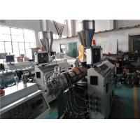 UPVC / PVC Pipe Extrusion Line SJSZ - 92 / 188 Twin Screw Extruder
