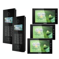 Buy cheap 10 Inch IP Based Video Doorphone System Apartment Building Intercom System from wholesalers