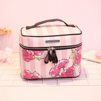 Buy cheap Flower Printing Zipper Closure Lipstick Travel Toiletry Bag from wholesalers