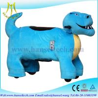 Buy cheap Hansel electrical animal plush motorcycle toys in guangzhou from wholesalers
