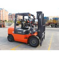 Buy cheap 4 Ton Balance Weight Type Diesel Forklift Truck With 3M Lifting Height Wholly Integrated Frame from wholesalers