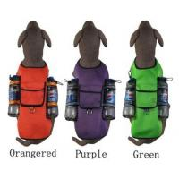 Buy cheap Large Dog Mesh Sports Harness Big Dog Self Back Carrier Bags Sport Travel 3 Col. from wholesalers