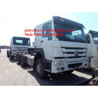 Buy cheap SINOTRUK HOWO 6x4 tractor truck 371 HP trailer head, HOWO loading 40t prime mover truck, Euro 2 from wholesalers