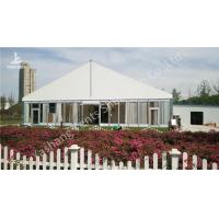 Buy cheap Gorgeous Transparent Glass Outdoor Wedding Party Tents , 850gSqm PVC Fabric from wholesalers