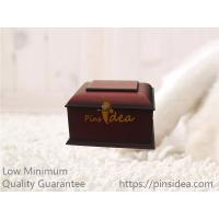 Buy cheap Rich Cherry Wooden Traditional Pet Funeral Cremation Ashes Urn Casket Box from wholesalers