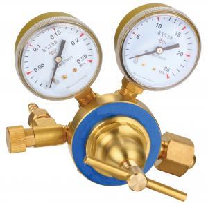 Buy cheap Medium Industrial Gas Pressure Regulators Durable Good Pressure Stability product