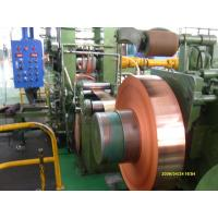 Buy cheap Industrial Thin Copper Strips / Copper Sheet Metal For PV Ribbon from wholesalers