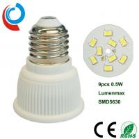Buy cheap 420~440lm E27 Ceramic Light Bulb SMD 5630 LED PAR16 5 Watt With 90~250V Wide Voltage Input from wholesalers