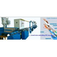 Buy cheap PE Wire And Cable Machinery CAT6A Cable Making , Siemens Electricity Brand from wholesalers