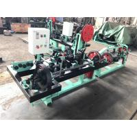 Buy cheap Barbed Wire Fencing Equipment , Single Twisted Barbed Wire Manufacturing Machine from wholesalers