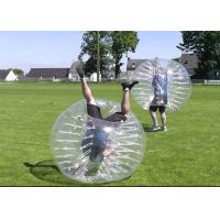 Buy cheap Outdoor Inflatable Toys Big Size Half Color Adult Bumper Ball Inflatable Soccer Bubble Ball from wholesalers