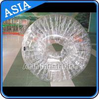 Buy cheap 1.0mm  Transparent PVC Inflatable Zorb Ball Human Hamster Ball from wholesalers