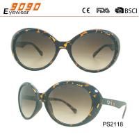 Buy cheap 2018 hot sale style   sunglasses with UV 400 protection lens ,made of plastic from wholesalers