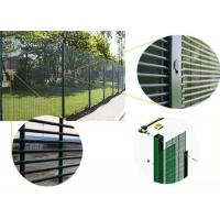 Buy cheap Stong tension anti climb cut 358 security mesh fencing for prison military from wholesalers