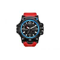 Buy cheap PU Strap Plastic Digital Watch , 50m Waterproof Digital Sports Watches For Men from wholesalers