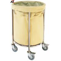 Buy cheap Hotel Stainless Steel Rolling Linen Trolley-Laundry Trolleys from wholesalers