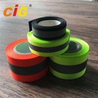 Buy cheap Sew / TC Retro Reflective Tape Reflective Safety Vests For Hi - Viz Garments product