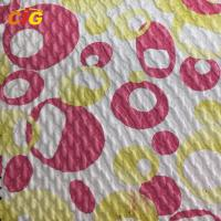 Buy cheap Strong Kniting Backing Engraved Artificial Leather Fabric For Bag product