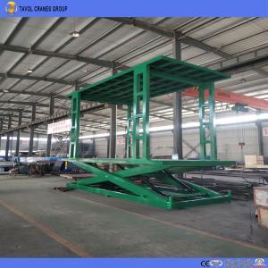 Buy cheap Dock Level Loading Unloading Scissor Electrical Lift Table Hydraulic Lift Platform product