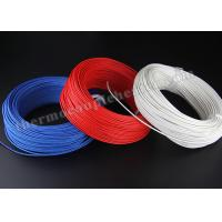Buy cheap Electric Heater High Temperature Cable , Silicon Rubber Insulated Heating Wire from wholesalers