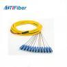 Buy cheap 0.9mm SM G652D G657A SC/APC SC/UPC Fiber Optic Pigtail PVC/LSZH 1M/1.5M/3M from wholesalers