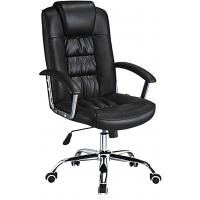 Custom Made High Back Executive Leather Office Chair Lumbar Support Anti - Mildew