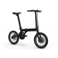 Buy cheap Aluminum Alloy Frame Folding E Bike , 250W Electric Folding Bike Lightweight from wholesalers