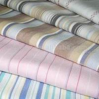 Buy cheap cotton nylon elastic striped fabric from wholesalers