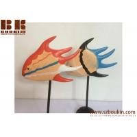 Buy cheap Art & Collectible, Display,decorative,promotion gift Wooden crafts floating fish creative home decorations kissing fish from wholesalers