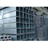 Buy cheap BS1387 Hot Dip Galvanised Steel Tube , ASTM A53 Square Steel Galvanized Pipe from wholesalers