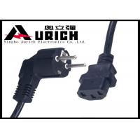 Buy cheap Small Appliance Power Cord Replacements , Germany Type 2 Prong Appliance Cord from wholesalers