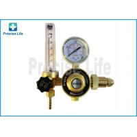 Buy cheap Forged copper G5/8 male Argon regulator outlet pressure 0.25MPa from wholesalers