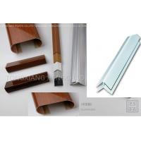 Buy cheap External Corner Smooth Rigid Plastic Extrusion Shapes Laminated Weather Resistant from wholesalers
