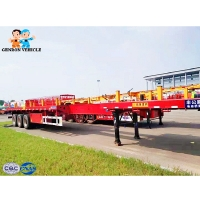 Buy cheap Multifunctional Iso 45T Extendable Container Semi Trailer from wholesalers