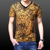 Buy cheap Men's v-neck T-shirt men shirt sale for USA and Europe from wholesalers