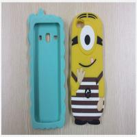 Buy cheap 2014 custom soft PVC/silicone/rubber mobile phone cases with cute design for 5s from wholesalers