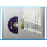 Buy cheap Windows 10 professional 64 bit DVD + OEM Coa Key License Mutilanugage Language FQC -08983 from wholesalers