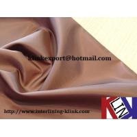 Buy cheap Polyester taffeta fabric---170T 190T 210T 230T from wholesalers