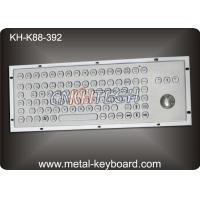 Rugged Metal Computer Keyboard with 38 trackball for Industrial control Kiosk