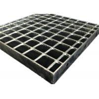 Buy cheap Durable Hot Dipped Galvanized Grating , Flush Top Railroad Heavy Duty Steel Grating from wholesalers