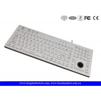 Buy cheap IP68 106 Keys Waterproof Silicone Keyboard Built In Trackball And Backlight from wholesalers