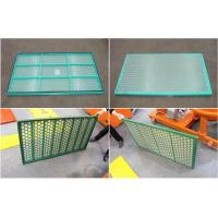 Buy cheap Durable Custom Shale Shaker Screen Carbon Steel Frame High Strength from wholesalers