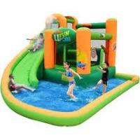 Buy cheap 0.6mm PVC Tarpaulin Inflatable Water Swimming Pool, Inflatable Swim Pool For Kids YHWP-007 from wholesalers